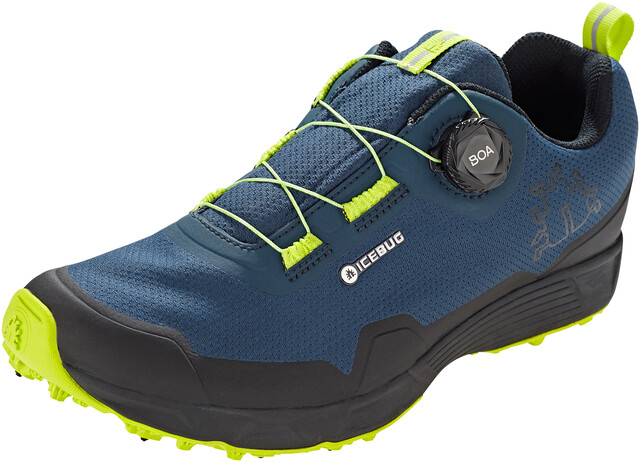 Icebug Rover BUGrip GTX Shoes Herre Night SkyPoison